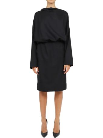 Vìen Black Backless Dress