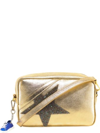 Golden Goose Glitter Star Patch Shoulder Bag