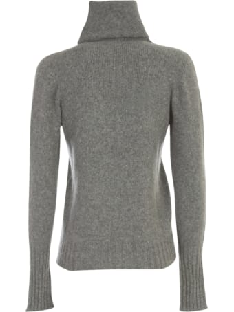Nuur High Neck Waisted Sweater