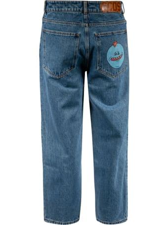 GCDS Mr. Meeseeks Print Jeans