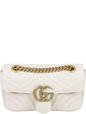 Gucci Gg Marmont Matelassé Mini Shoulder Bag
