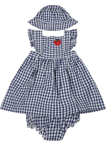 Sonia Rykiel Checked Set For Babygirl