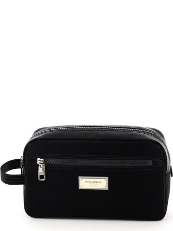 Dolce & Gabbana Nylon Samboil Cosmetic Case