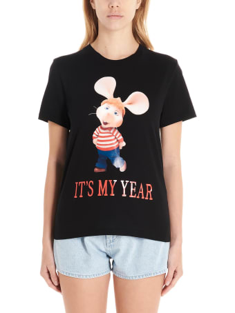 Alberta Ferretti 'topo Gigio It's My Year' T-shirt