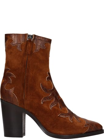 The Seller Texan Ankle Boots In Leather Color Suede