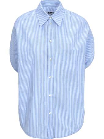 MM6 Maison Margiela Mm6 Mm6 Striped Shirt