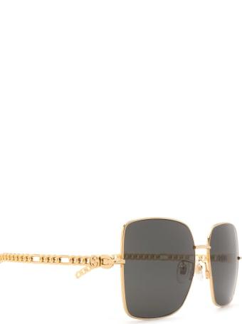 Gucci Gucci Gg0724s Gold Sunglasses