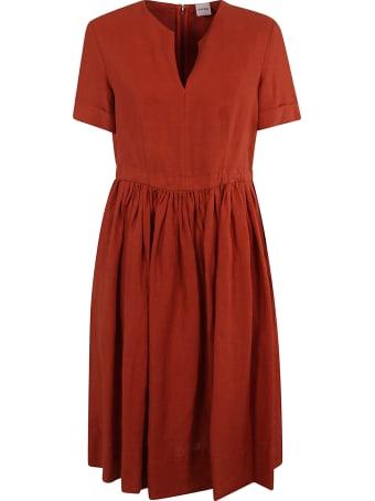 Aspesi Short-sleeve Mid-length Dress