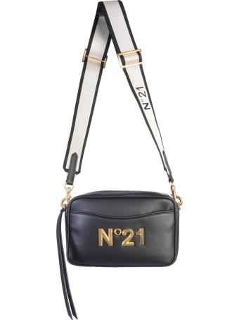 N.21 Leather Shoulder Bag
