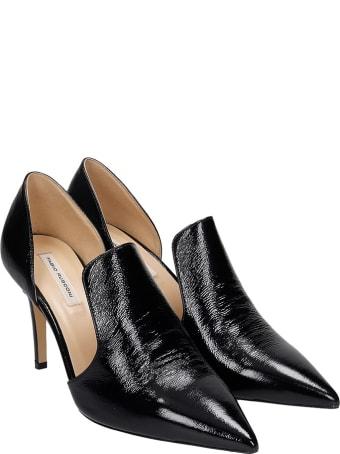 Fabio Rusconi Pumps In Black Patent Leather