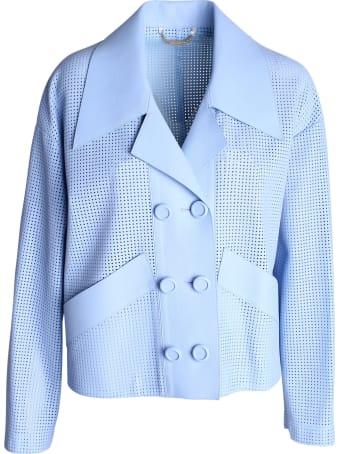 Fendi Lambiskin Jacket