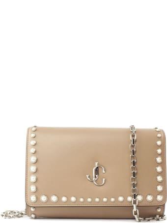 Jimmy Choo Ballet Pink Calf Leather Clutch Bag