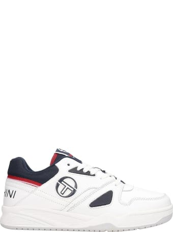 Sergio Tacchini Top Play  Sneakers In White Leather