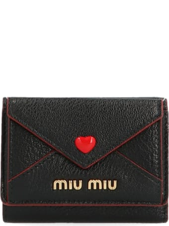 Miu Miu 'madras Love' Wallet