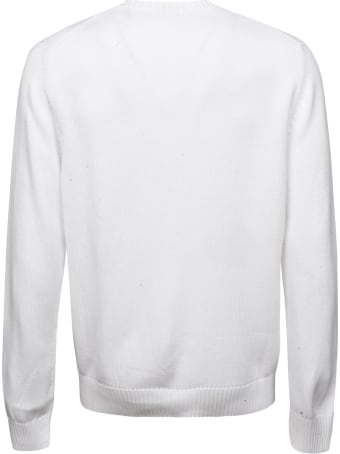 Malo Plain Ribbed Sweatshirt