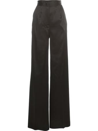Blumarine Straight Stretch Pants W/lace