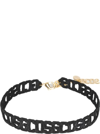 GCDS Crochet Logo Chocker