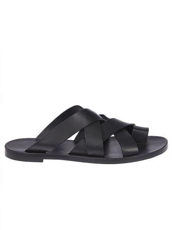 Jil Sander Strappy Sandals