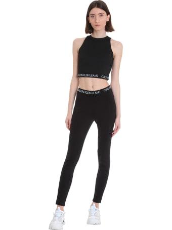 Calvin Klein Jeans Topwear In Black Polyester