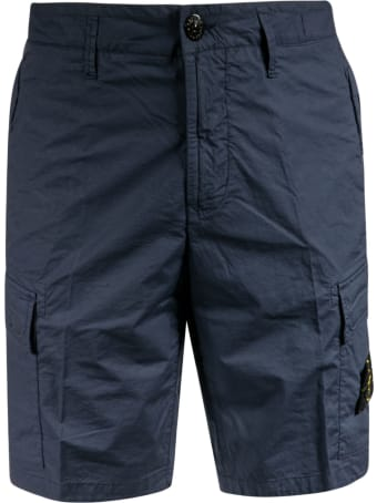 Stone Island Buttoned Shorts