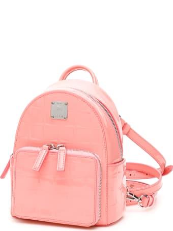 MCM Stark Diamond Backpack