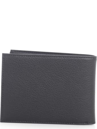 Emporio Armani Leather Gift Box Wallet And Keyring