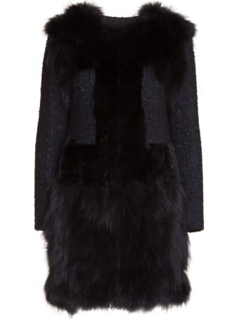Bully Fur Applique Coat