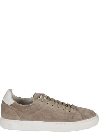 Brunello Cucinelli Classic Suede Sneakers