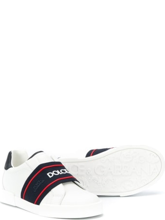 Dolce & Gabbana Sneaker With Logo Band