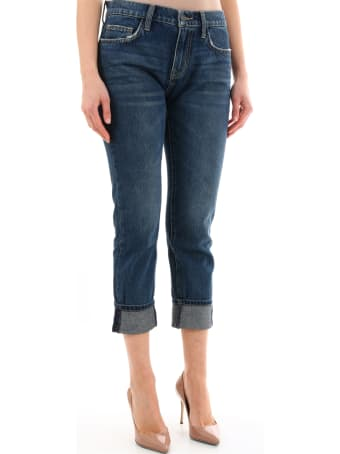 Current/Elliott The Fling Blue Denim