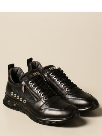 Paciotti 4US Sneakers Paciotti 4us Sneakers In Smooth And Textured Leather