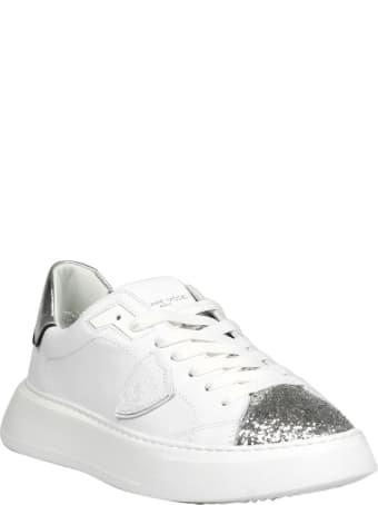 Philippe Model Temple L D Veau Glitter Sneakers