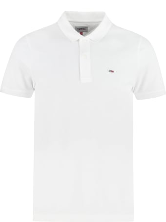 Tommy Jeans Cotton Piqué Polo Shirt