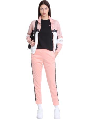 Fila Jada Sweatshirt In Rose-pink Polyamide