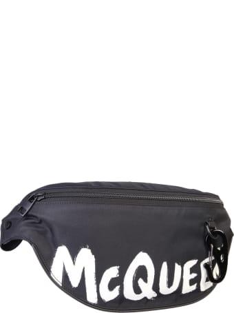 Alexander McQueen Graffiti Belt Bag