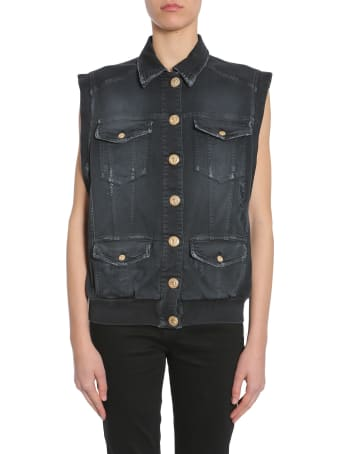 Balmain Sleeveless Jacket