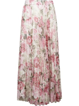 Parosh Pochic Long Floral Printed Dress