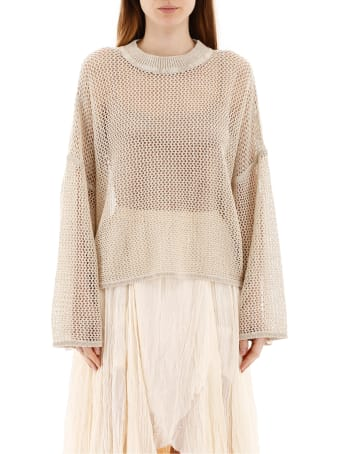 See by Chloé Openwork Sweater