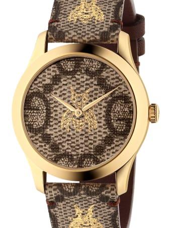 Gucci 'g-timeless Garden Le Marchè Des Merveilles' Watch