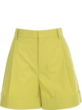 Sofie d'Hoore Shorts W/turn Up And Side Pockets