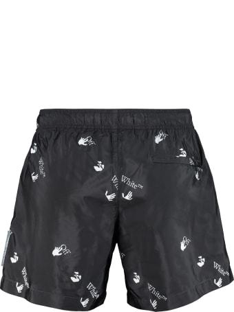 Off-White Nylon Swim Shorts