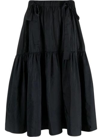 Cecilie Bahnsen Hadrian Voluminous Skirt With Bows