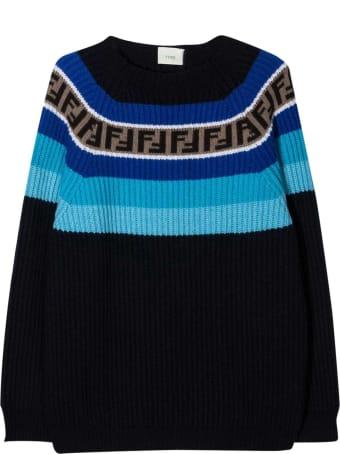 Fendi Blue Sweater