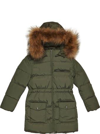 Manudieci Fur Trim Padded Coat