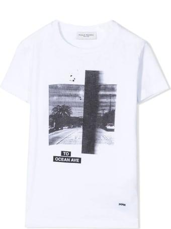 Paolo Pecora White Cotton T-shirt