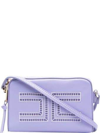 Elisabetta Franchi La Mia Bambina Purple Bag