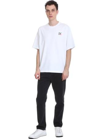 Kenzo T-shirt In White Cotton