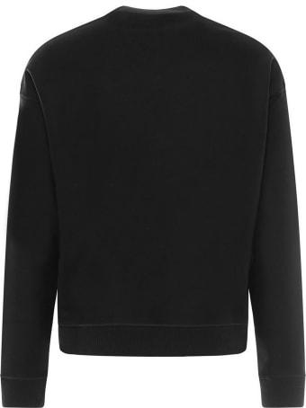 Jil Sander Navy-blue Wool Sweatshirt