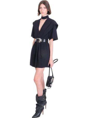 IRO Didje Dress In Black Polyester