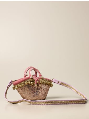 Sikuly Handbag Rusidda P. Sikuly Coffa Bag With Sequins